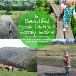 6 beautiful places for Peak District family walks | countryside family walks near Sheffield