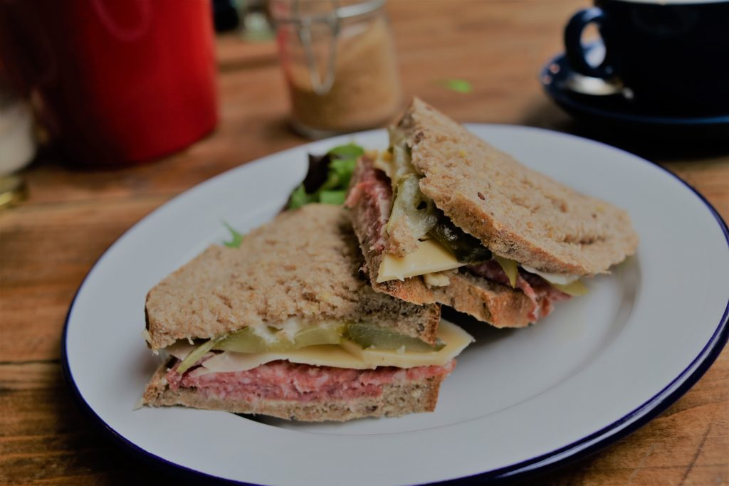 the holt sheffield food sandwich