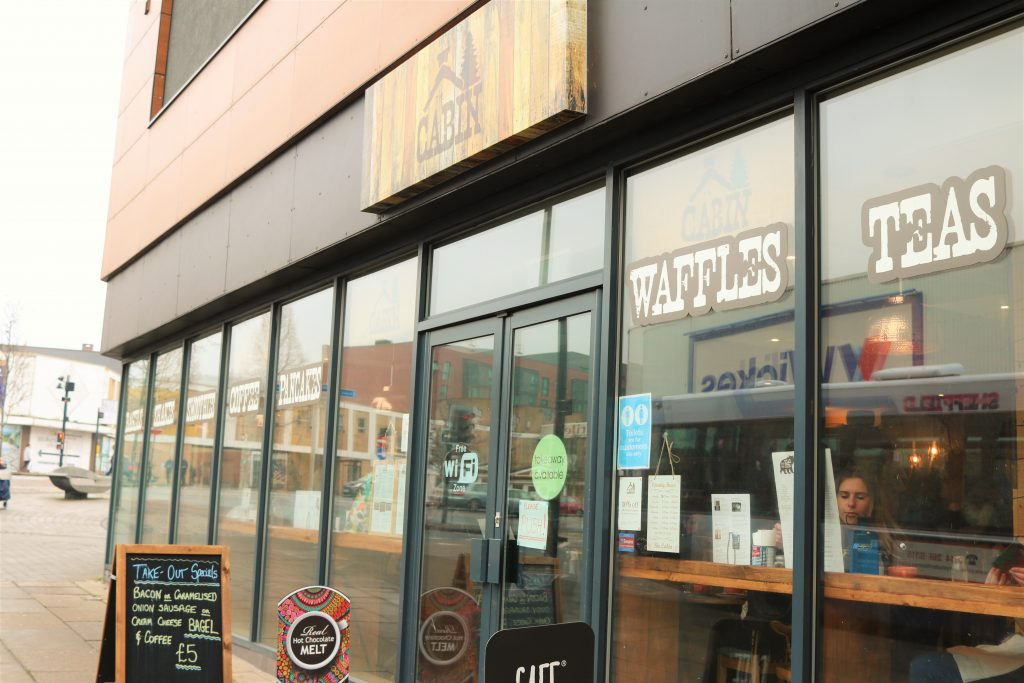 the cabin pancake and waffle coffeehouse in sheffield