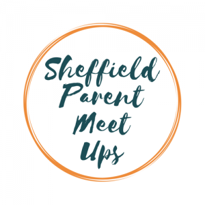 logo for sheffield parent meet ups facebook group