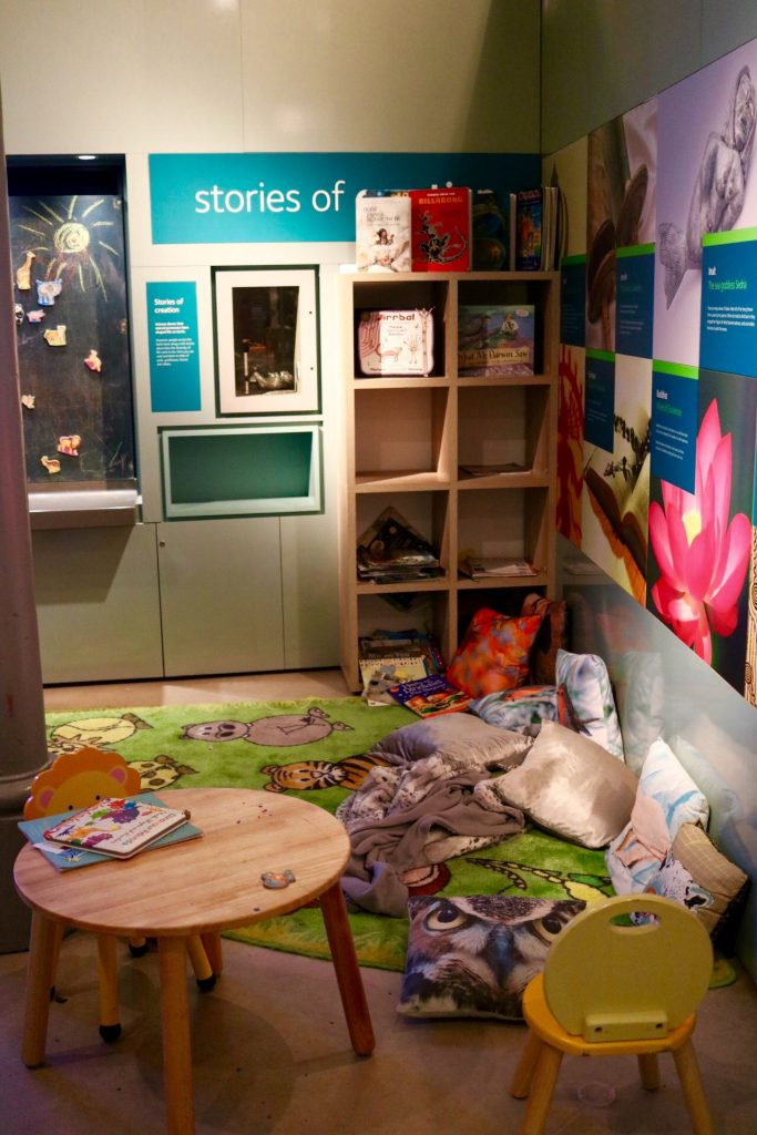 leeds city museum kids reading corner