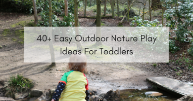 30 activity ideas to enjoy outdoor nature play with toddlers