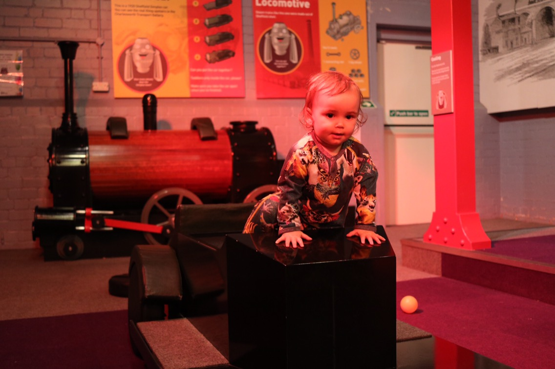 Melting shop soft play and 10 ways to enjoy kelham island museum in Sheffield with a toddler