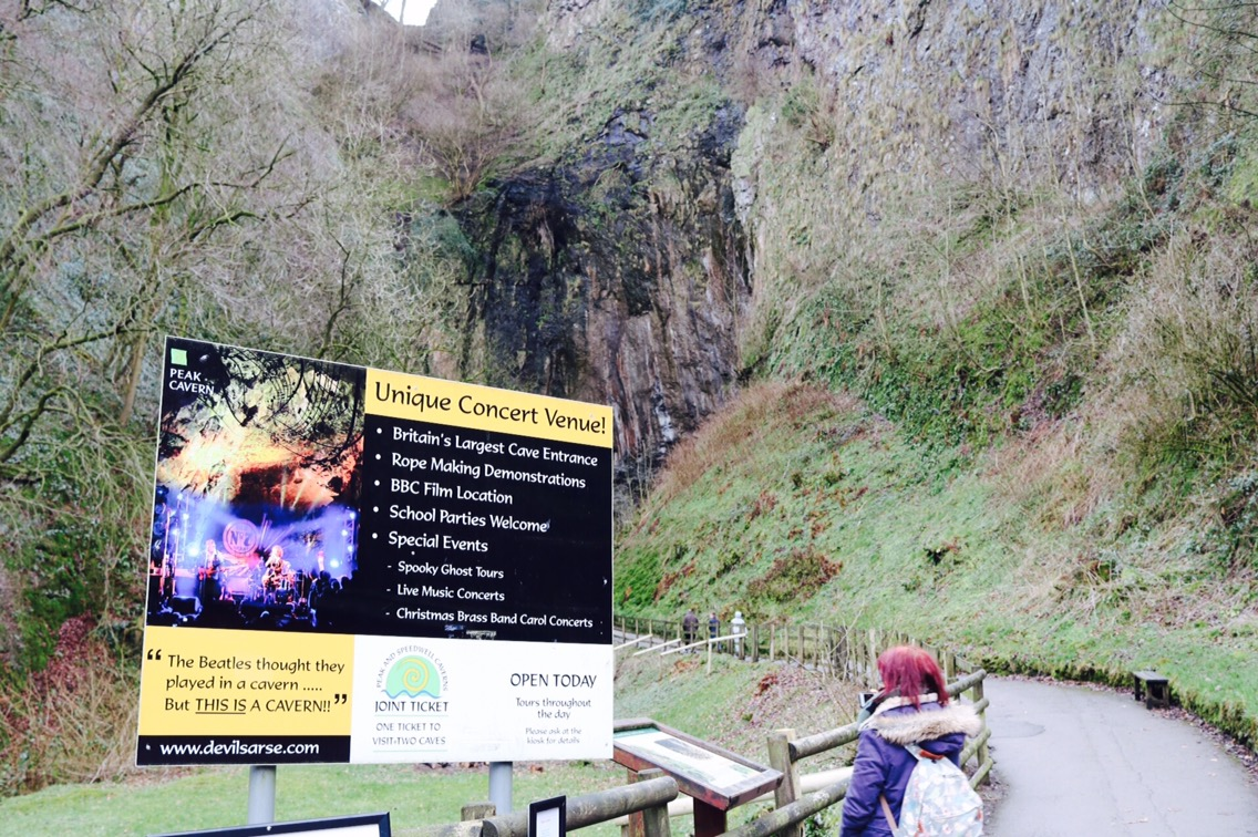 devils arse peak cavern what to do in castleton derbyshire day trip with a toddler