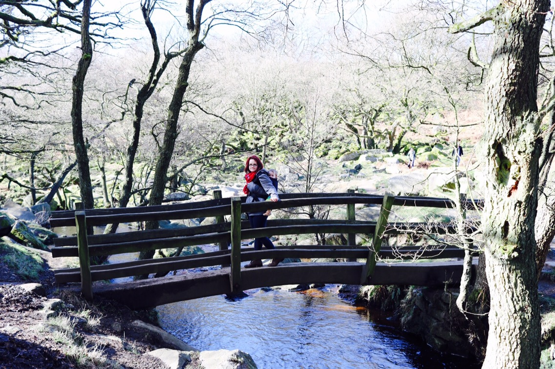 adventures at longshaw estate and padley gorge peak district