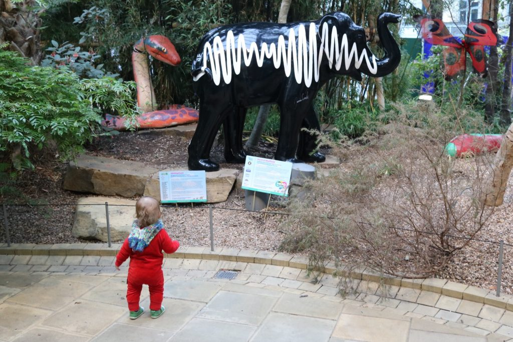 Herd Of Sheffield at Winter Garden fun things to do in Sheffield for kids & what to do in Sheffield with kids