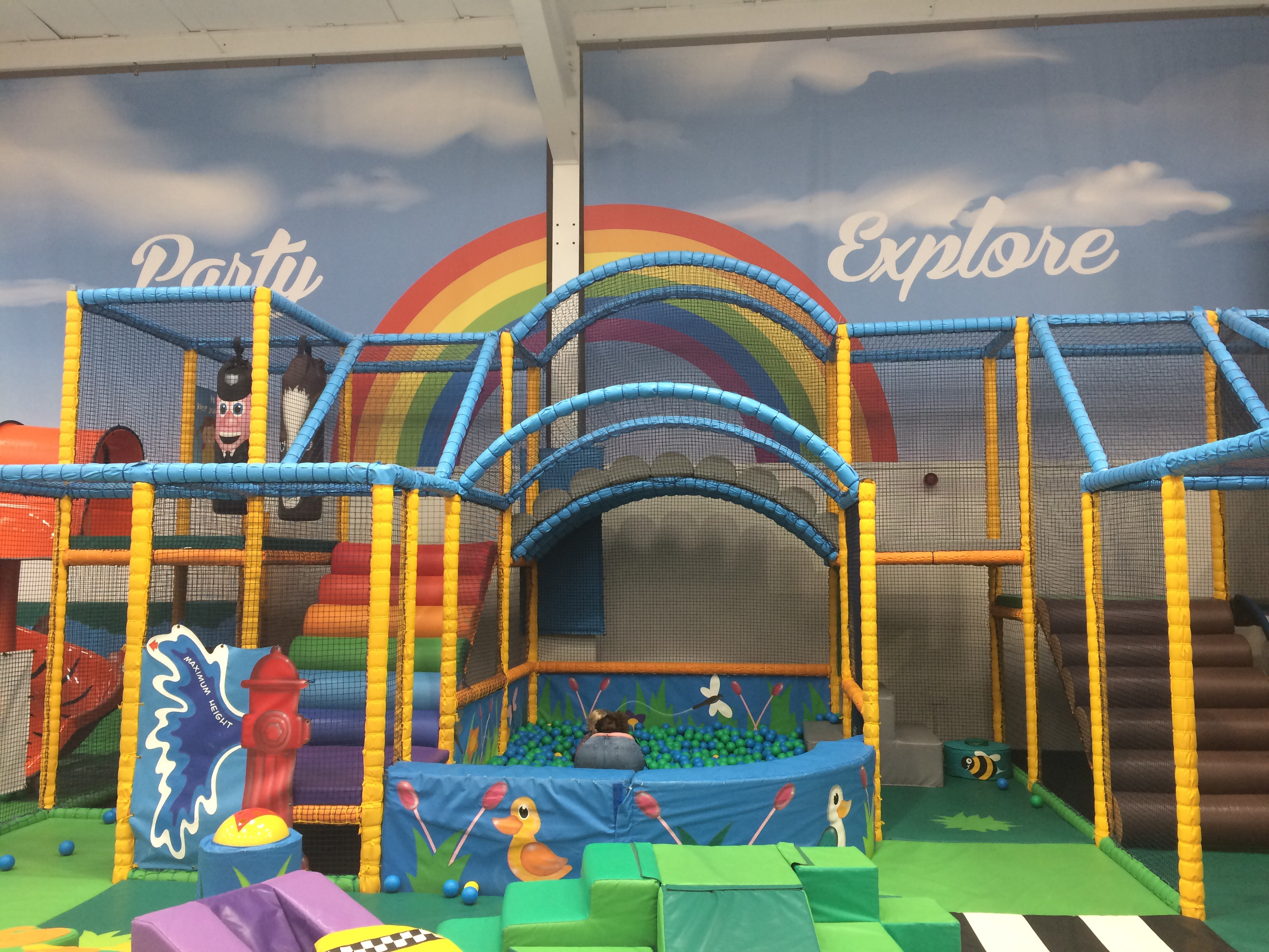 Big Apple play city Rotherham soft play