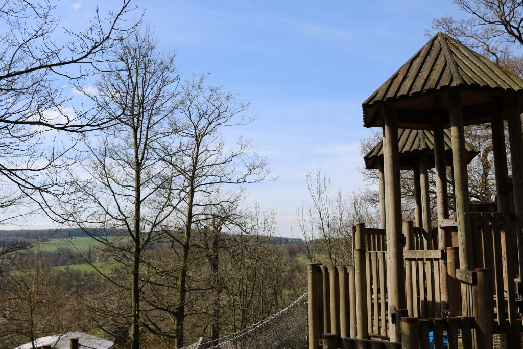Chatsworth House Farmyard and amazing adventure playground