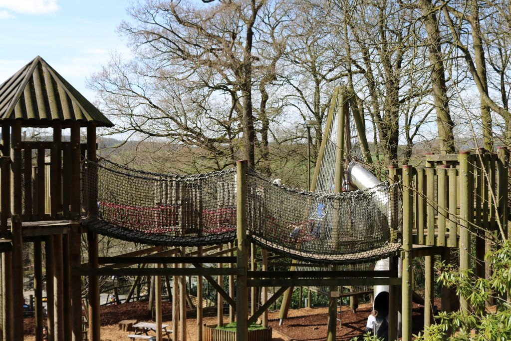 Chatsworth House Farmyard and amazing adventure playground best adventure playgrounds