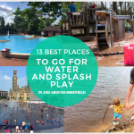 Splashtastic! 13 best places for outdoors water play kids will love in and around Sheffield | Best places for splash and water play for kids in Sheffield and South Yorkshire