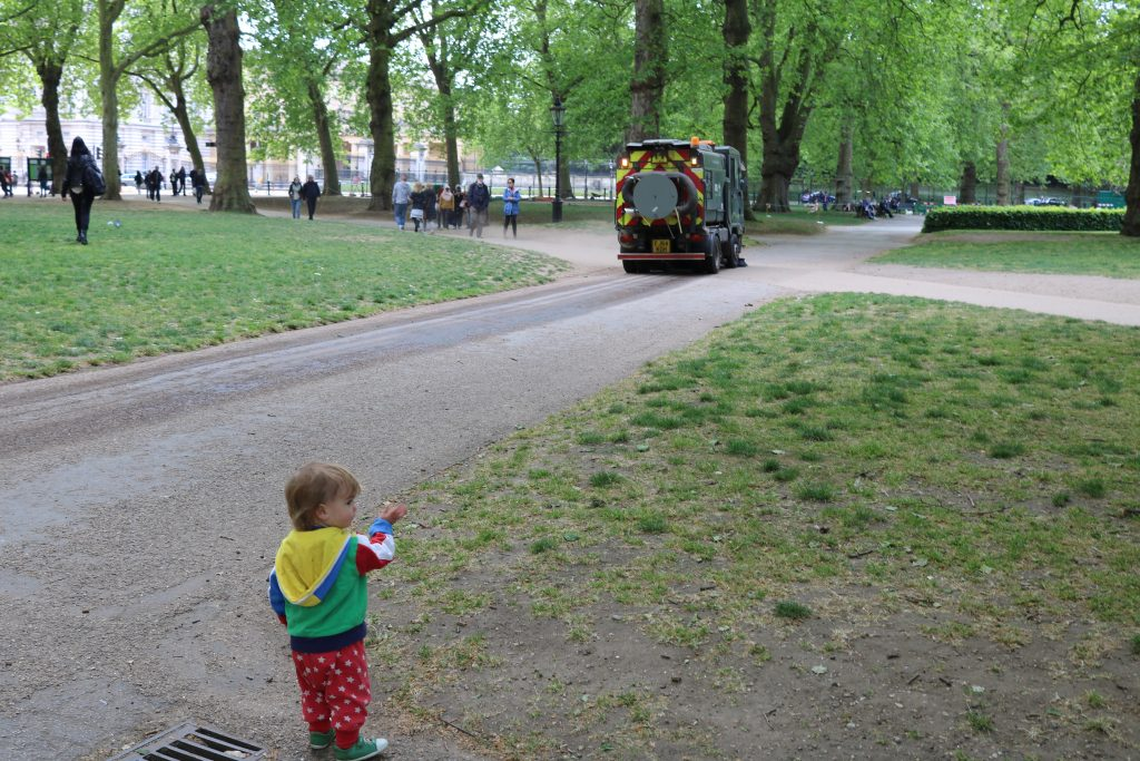 London Green Park London with a Toddler - 5 top tips