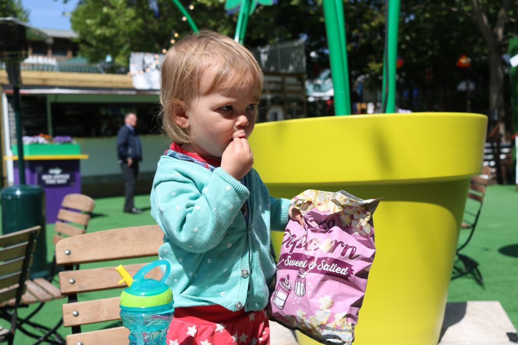 london south bank toddler underbelly festival London with a Toddler - 5 top tips