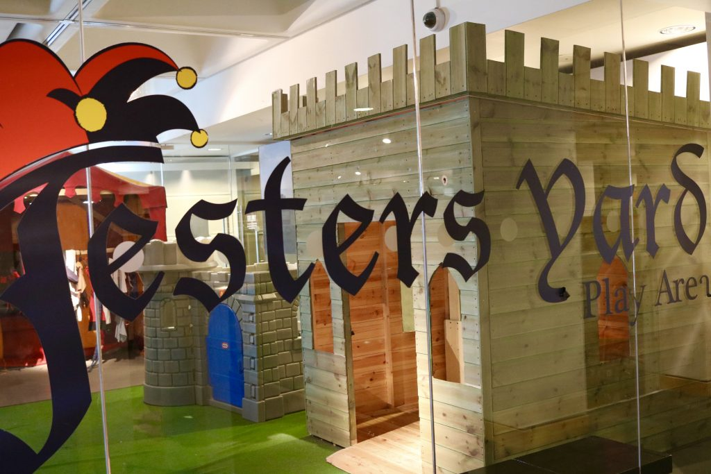 jesters yard play area family trip to royal armouries and roundhay park Leeds