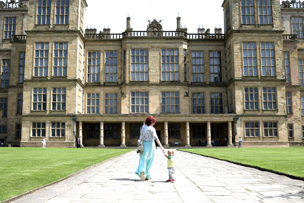 National Trust family day out at Hardwick Hall!