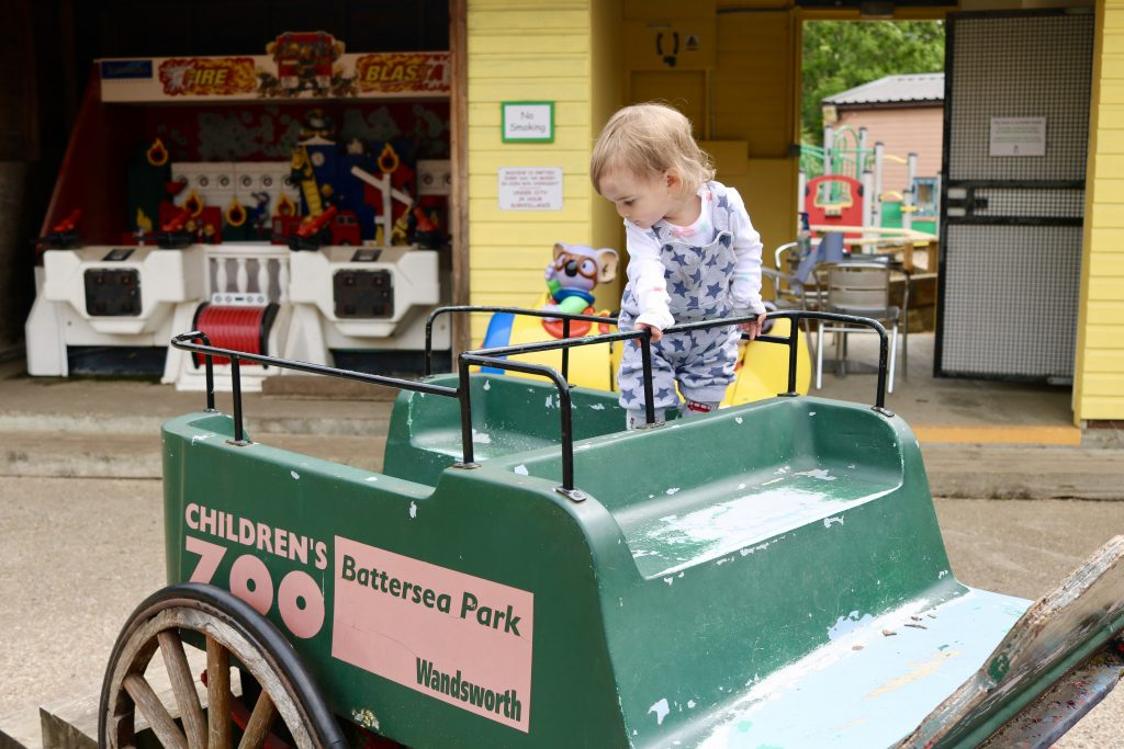 day out at Battersea children's zoo in London