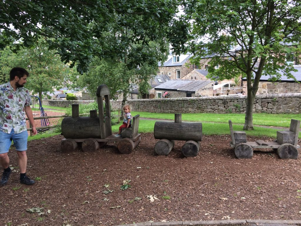 Hathersage playground Best Things To Do and See in the Peak District with Kids