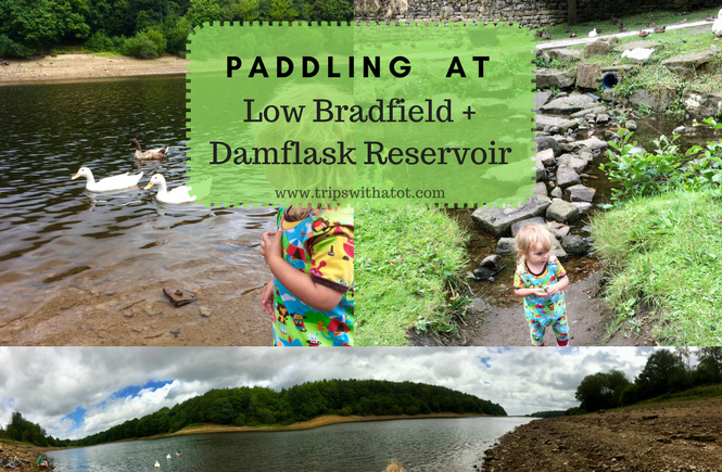 Paddling at Low Bradfield and Damflask Reservoir, Sheffield