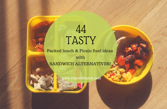 Picnic and Packed Lunch ideas for kids and grown-ups