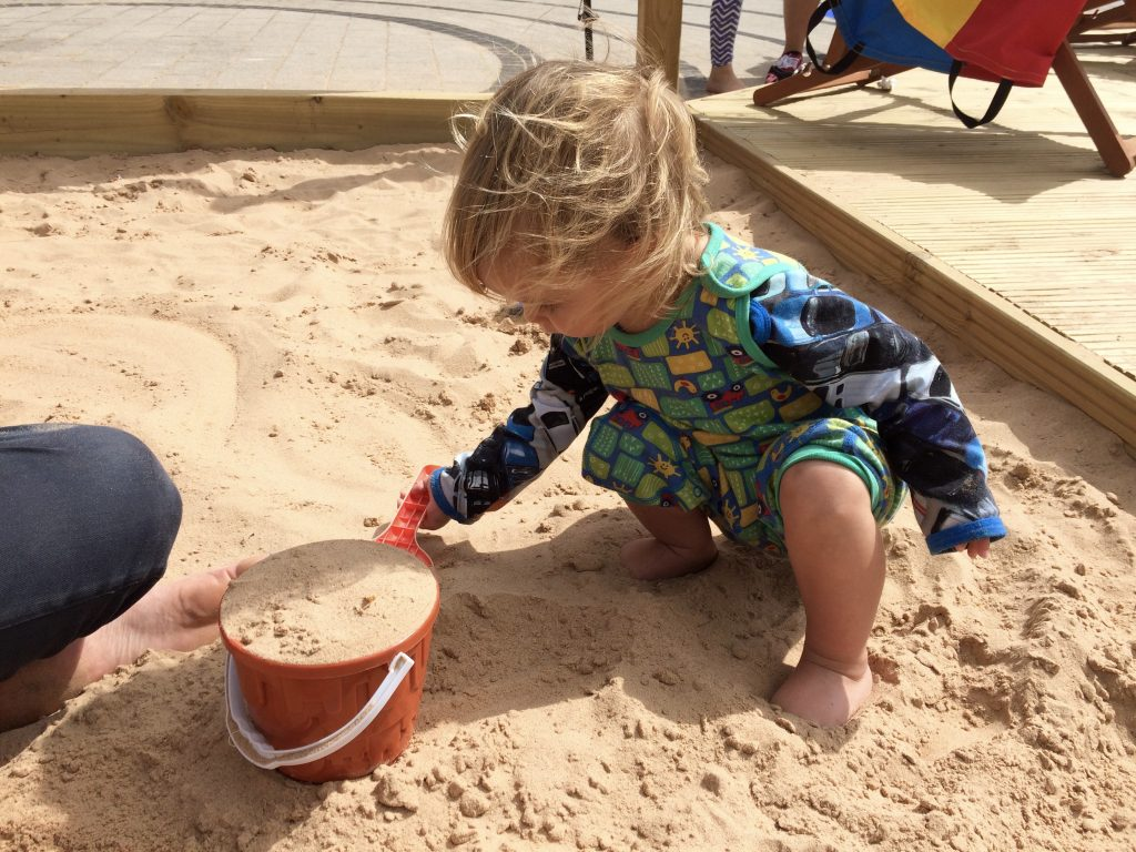 MH Beach at Meadowhall 8 ideas for types of days out suitable for toddlers