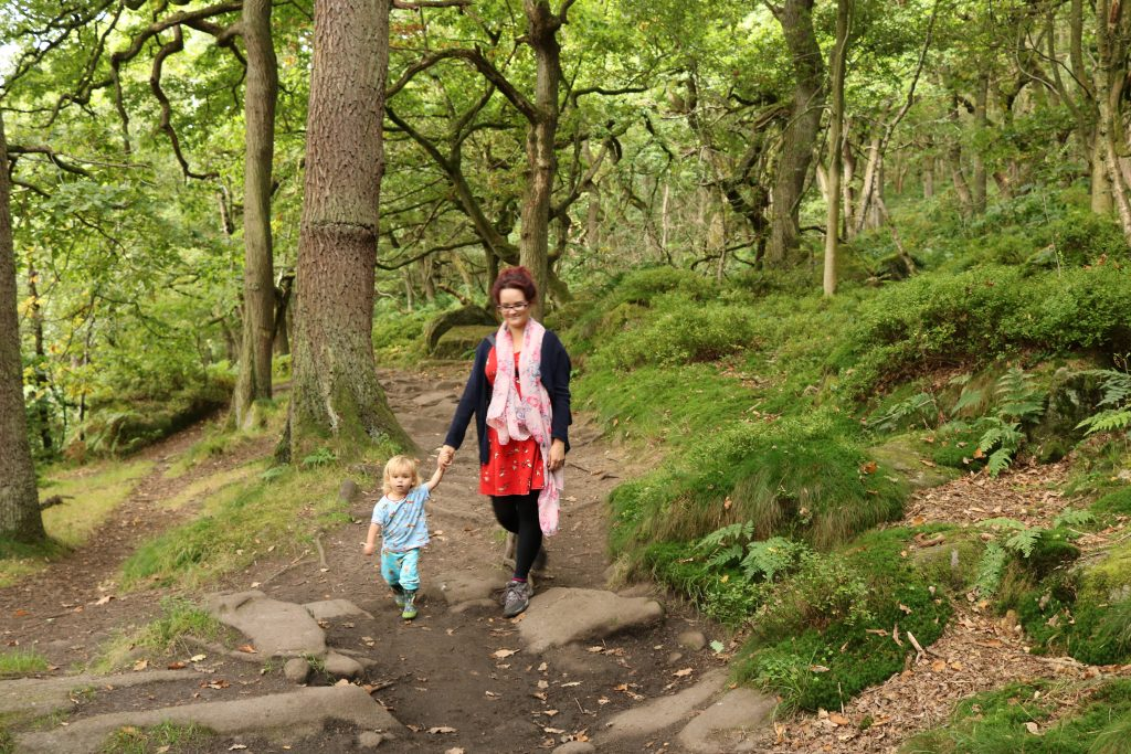 Padley Gorge, Longshaw Estate, Peak District Top 5 free things to do in Sheffield for kids what to do in sheffield with kids