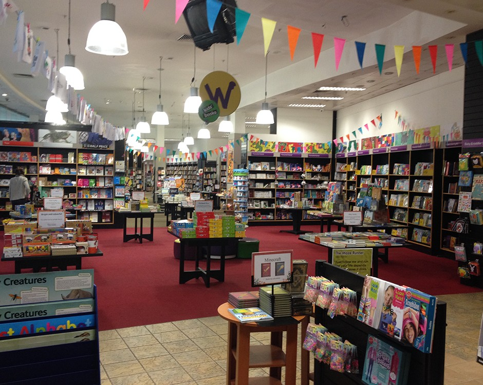 Waterstones book shop Waterstones, Orchard Square:  3 Reasons Why It's Great For Toddlers | Child-friendly cafe & play area