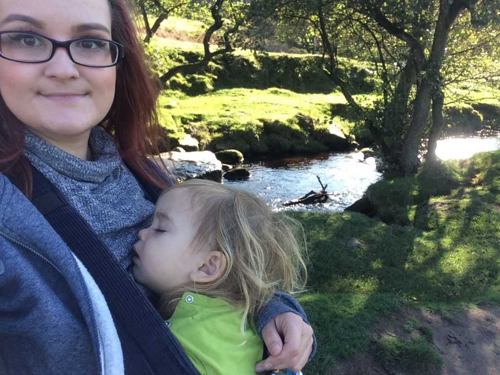 padley gorge Peak District walk near Sheffield with kids