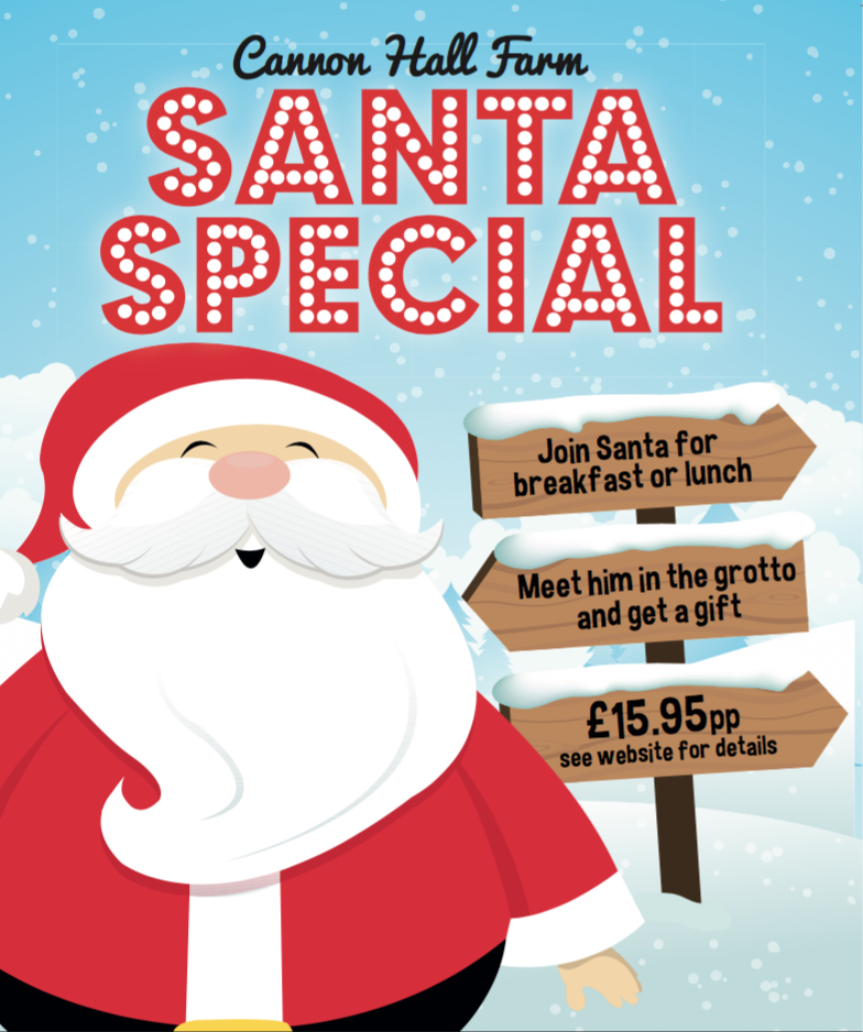 Santa Special at Cannon Hall Farm 30 Best Christmas days out and events for Sheffield families