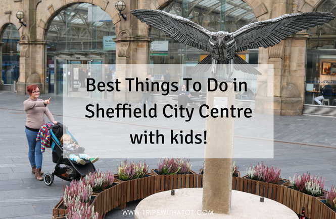 Sheffield City Centre With Kids what to do in Sheffield with kids