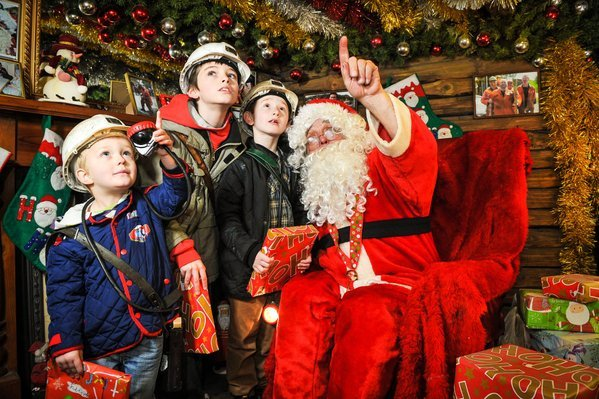 Santa Underground 30 Best Christmas days out and events for Sheffield families