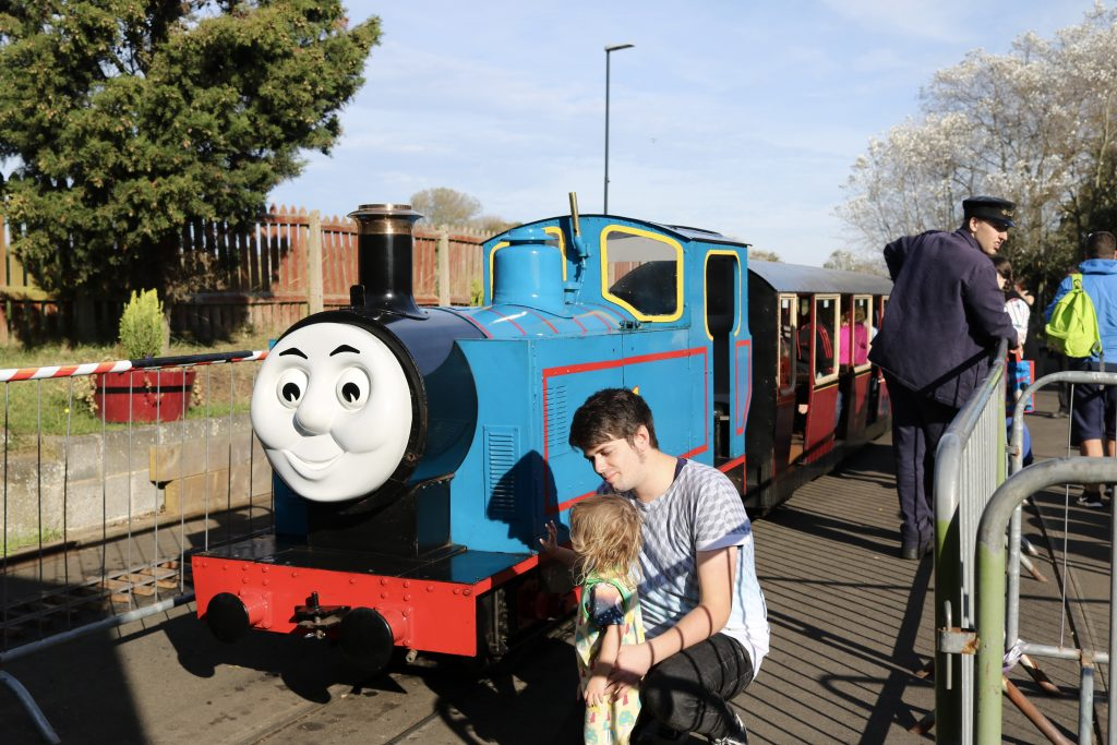 Day Out With Thomas at Cleethorpes Coast Light Railway