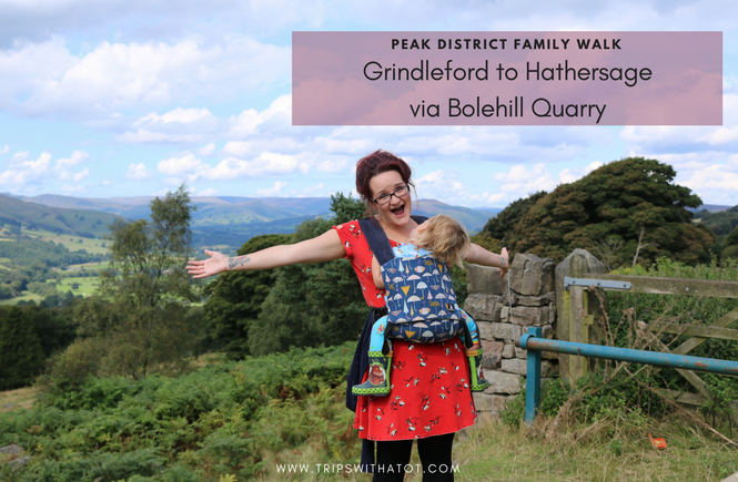 Family Peak District Walk: Grindleford to Hathersage