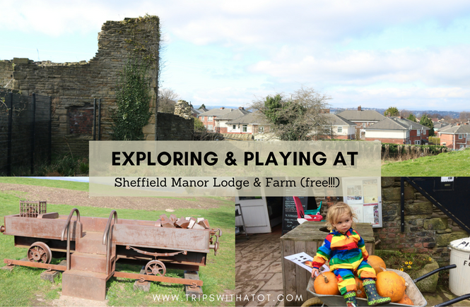 Come with us for an explore around Sheffield Manor Lodge and Farm