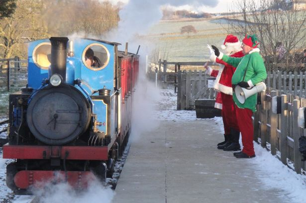 Santa Special's at Kirklees 30 Best Christmas days out and events for Sheffield families