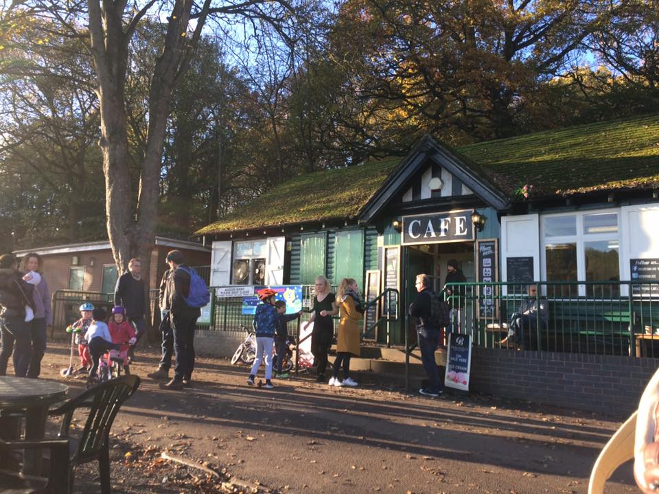 endcliffe park cafe Best parks and family friendly cafes in Sheffield for kids what to do in Sheffield with kids