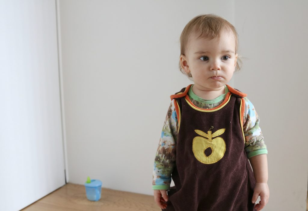 Brown Velour Smafolk Dungas and Cow Print Molo Suit Scandi Baby Clothes: Baby To Toddler Scandi Outfits