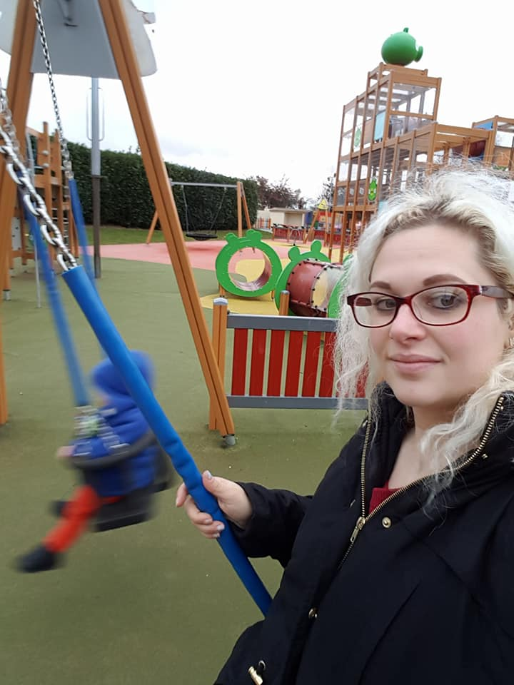 Sundown Adventureland at Christmas with toddlers
