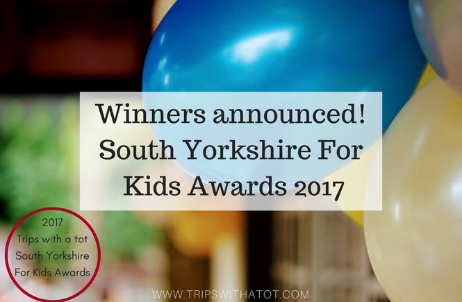 winners of the Trips with a tot South Yorkshire For Kids Awards 2017