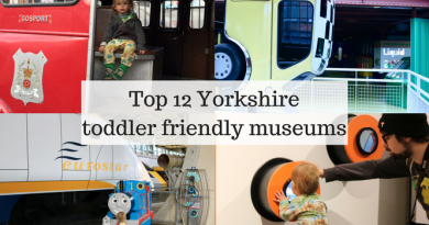 Top 12 Yorkshire Toddler Friendly Museums