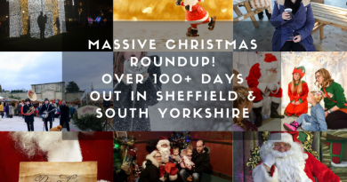 Mega Christmas days out/things to do in Sheffield / South Yorkshire roundup