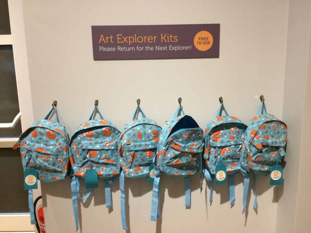 The Cooper Gallery explorer bag 41 fun and budget ideas for things to do with Sheffield kids