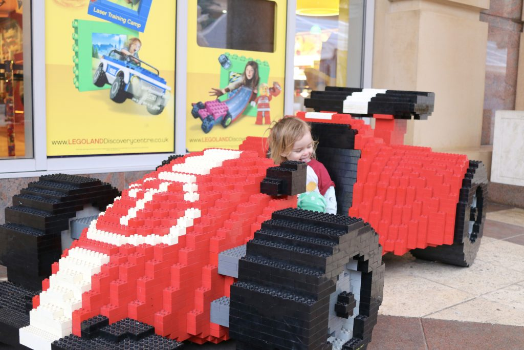 Legoland discovery centre in Manchester review