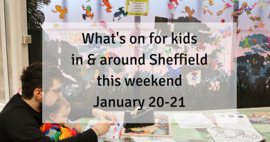 What's on this weekend for kids in and around Sheffield - Jan 20/21