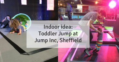 toddler jump at Jump Inc in Sheffield