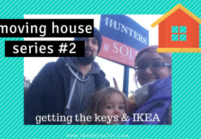 Moving house Series #2: Getting The Keys & IKEA!