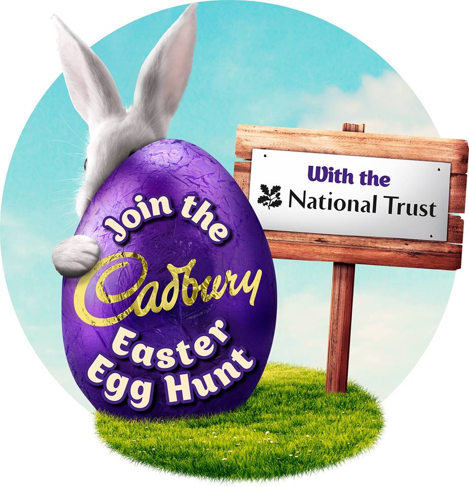 National Trust Cadbury egg hunt nostell priory What's on in/near Sheffield for Kids this Easter