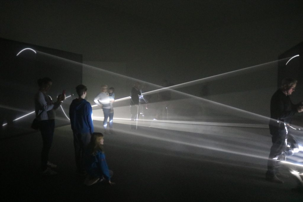 Anthony McCall: Solid Light Works at The Hepworth Wakefield