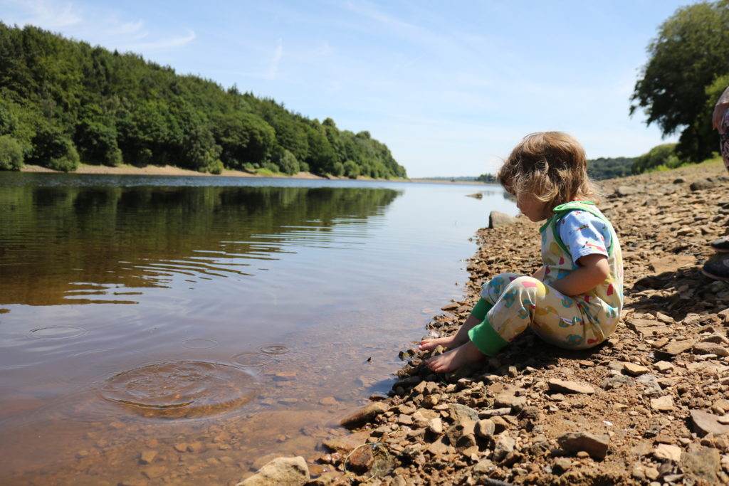Family walk at Damflask Reservoir Sheffield 20 amazing places to enjoy a sunny family day out & picnic Sheffield
