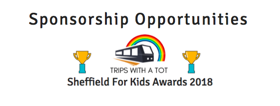 Trips With a Tot Sheffield For Kids Awards Sponsorships