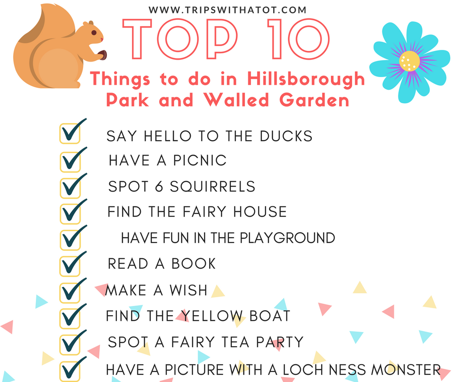 Hillsborough Park & Walled Garden - 10 Things To Do & See Free Trail