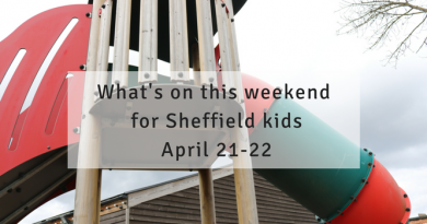 What's on this weekend in/near Sheffield for kids April 21-22